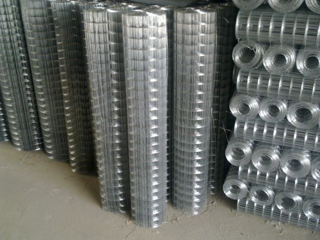 3/4 inches Galvanized welded wire mesh