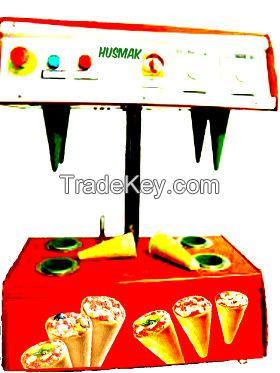 PIZZA CONE MACHINE 4 cone capacity