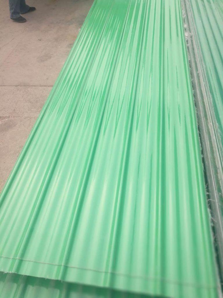 corrugated FRP Roofing Sheet Fiberglass Tile