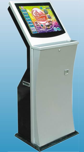 Touch Screen Arcade Game Machine