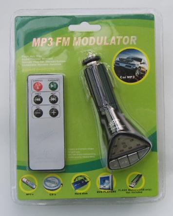 Car MP3 FM modulator (SVF213)