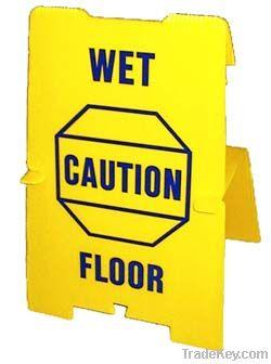 Plastic Wet Floor Sign