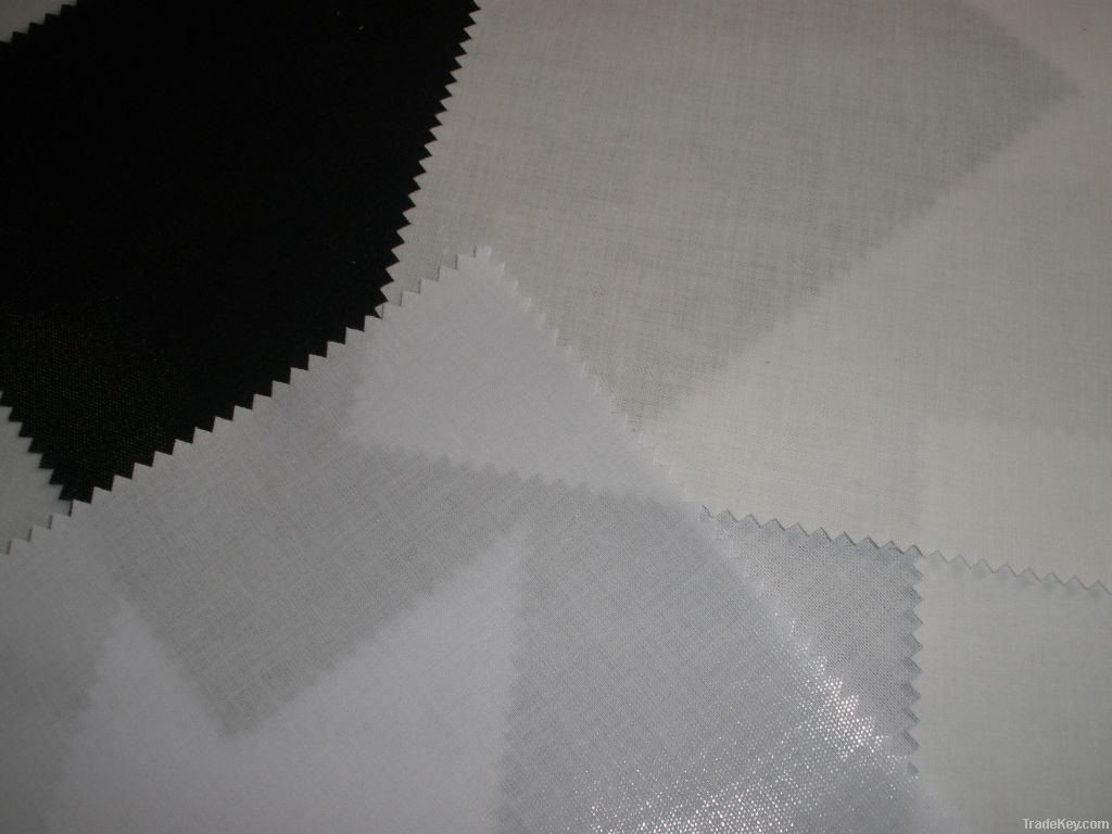 Top fuse cotton shirt interlining