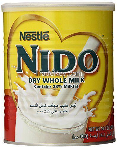 Infant milk, red cap Nido milk powder, skim milk powder, full cream milk