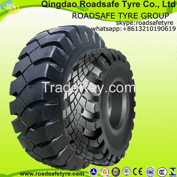 Radial off-the-road tire Bias military tyre OTR tire 18.00-24 2400R35