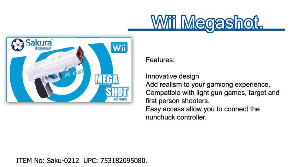 Wii Mega Shotgun