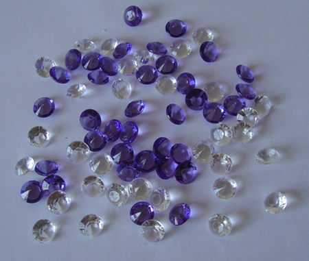 Acrylic Diamond Confetti