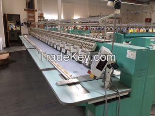 Tajima Embroidery Machines