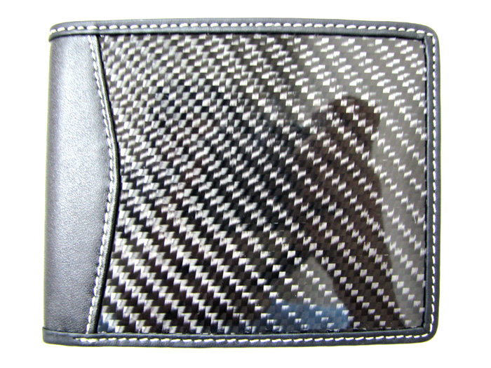 Carbon Fiber Leather Wallet