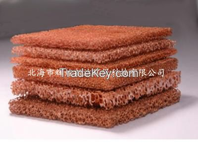 Porous Foam Metals: Copper Material, The Carrier of Chemical Catalyst