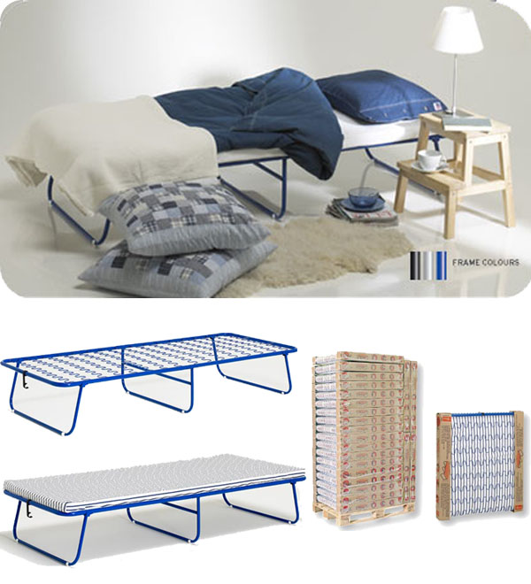 folding guest  bed