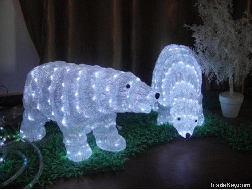 3D Sculpture Christmas Lights