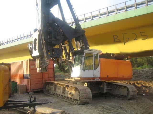 Drilling RIG Bauer BG