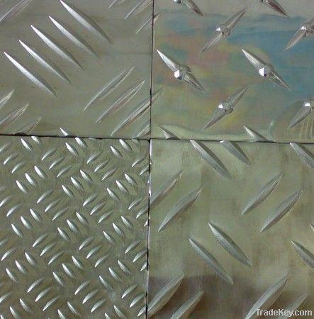 Grainy Aluminium Sheet