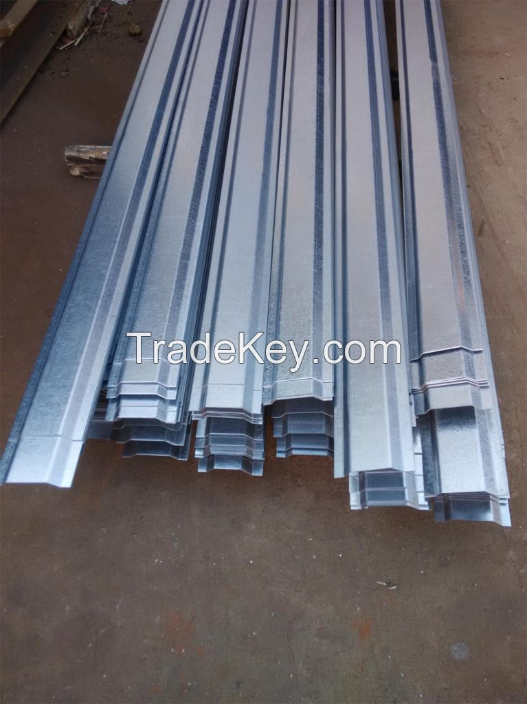 Cold Forming Structures of Hot Dipped Galvanized Steel