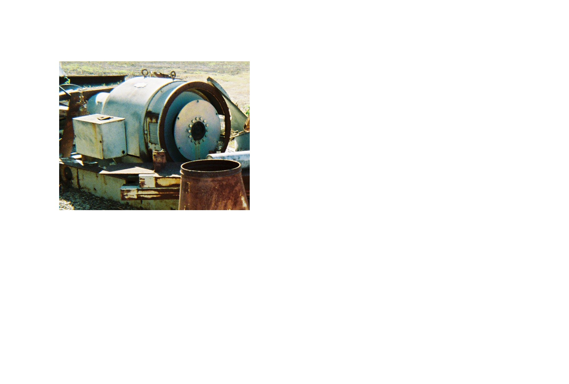 Electric Machinery 250 kW Synchronous Generator