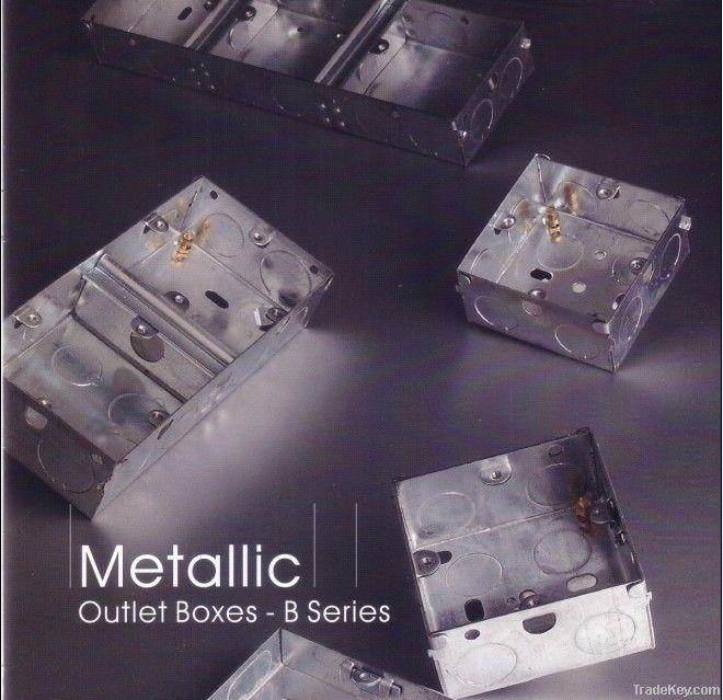 Metal outlet box/ G I box