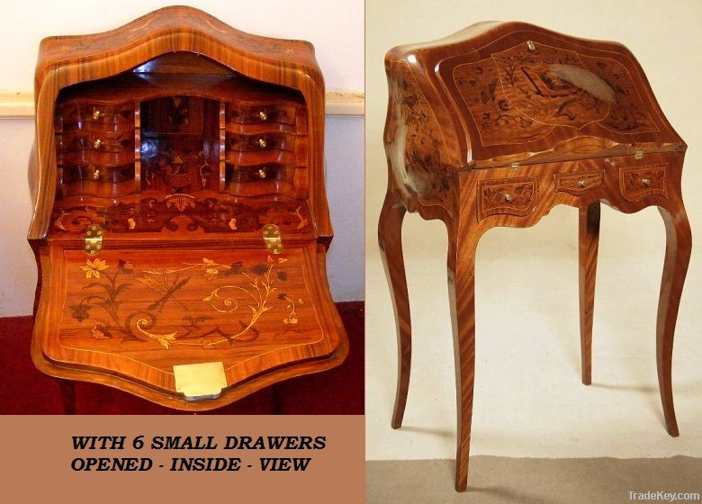 Reproduction antique Secretary desk