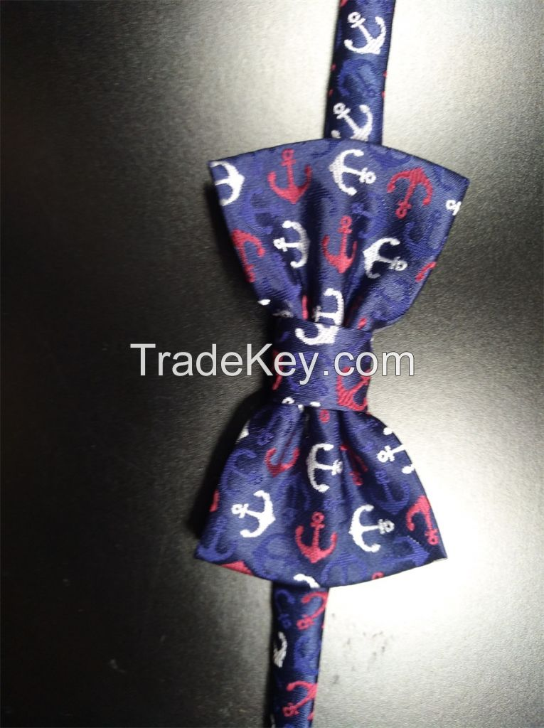 bow tie , fashion polyester necktie , men ties