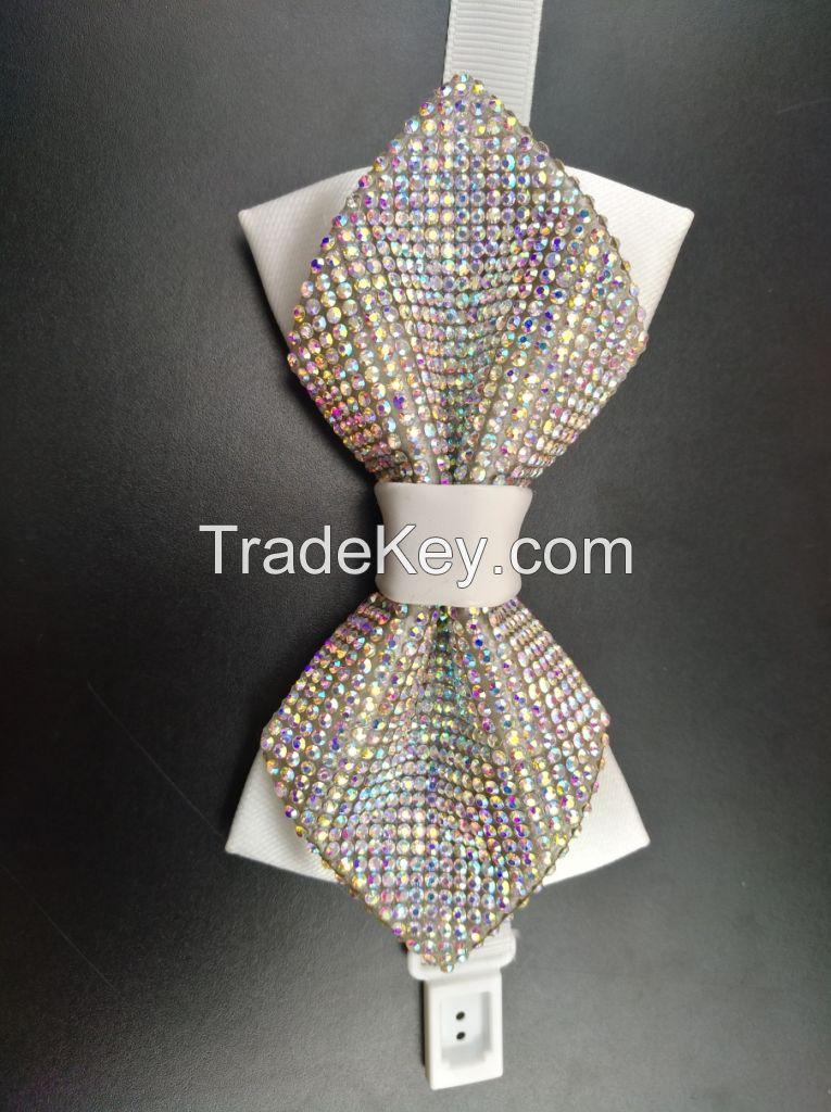 bow tie , fashion polyester necktie , men ties