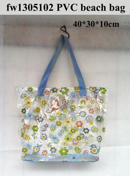 nice beauty cosmetic bag pvc hand bag