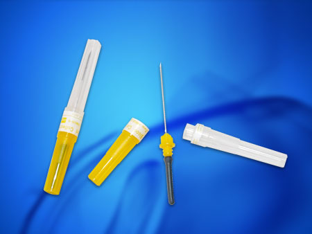 vacutainer tube and needle