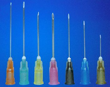 Disposable Syringe Needle Cannula