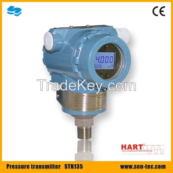Pressure transmitter STK135 with HART protocol