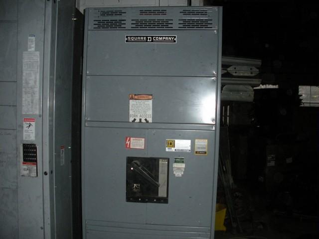 Switchboard 2000 Amp Main Breaker