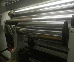 Aluminum coated CPP, PET, PVC, BOPP, PE