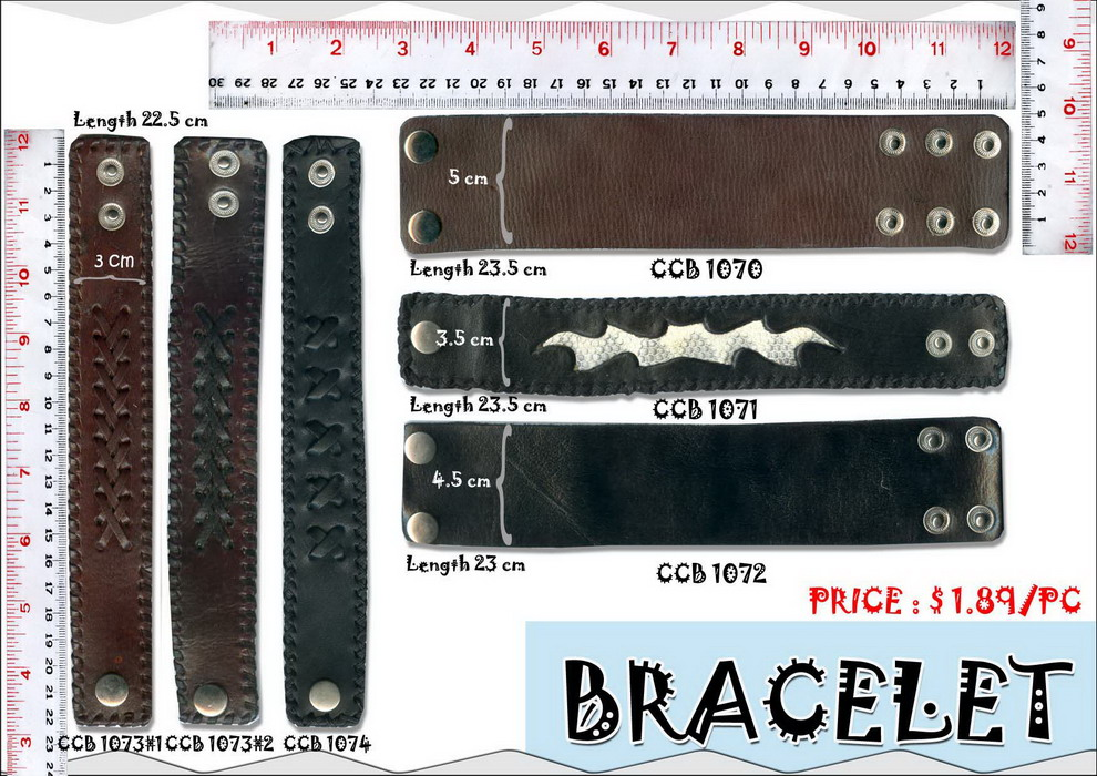 Fashion Leather Jewelry
