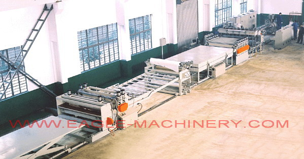 PP Hollow profiles Sheet Extrusion Machinery