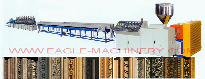 Frame Profiles Extrusion Machine