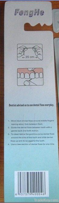soft nylon66 bristle tooth brush with dental floss FDA certificate