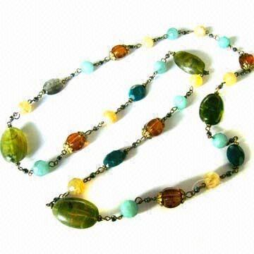 fashion jewelry-long necklace