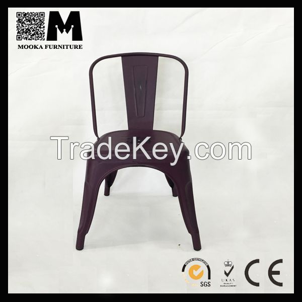 hot sale durable  friendly material stainless steel dining chair