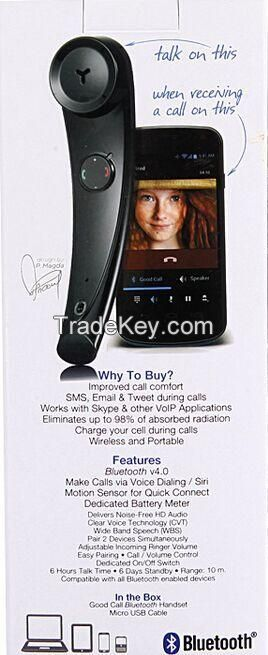 Telephone receiver, Bluetooth Retro Handset, mobile phone headset, Bluetooth speaker, wireless headset, mobile phone receiver