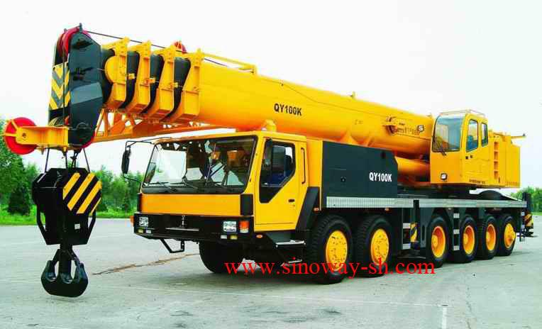 Truck Crane  100 Tons   Truck Crane  50 Tons   Crawler