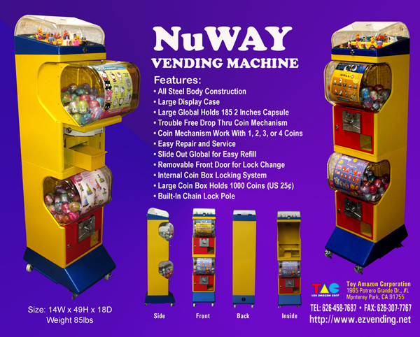 Nuway vending machine