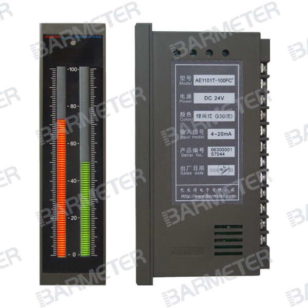 current / voltage LED bargraph display meter