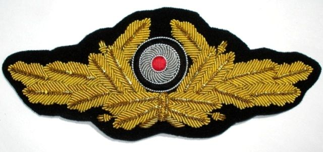 Military Badge Patch Goldwire Embriodery