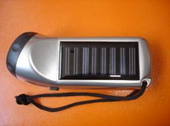 Solar Electric Torch