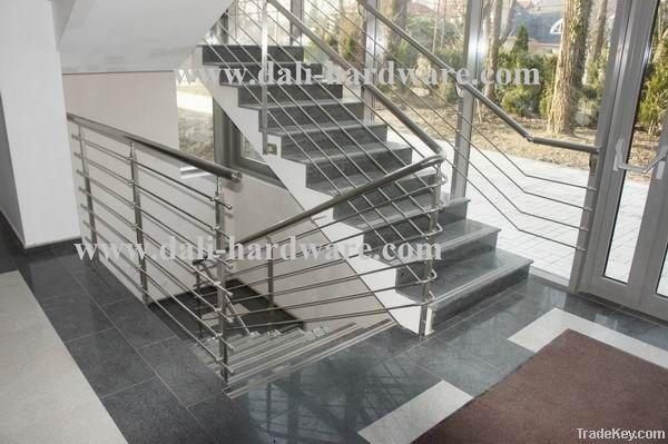 Stainless steel baluster/balustrade/handrail/glass handrail/glass rail