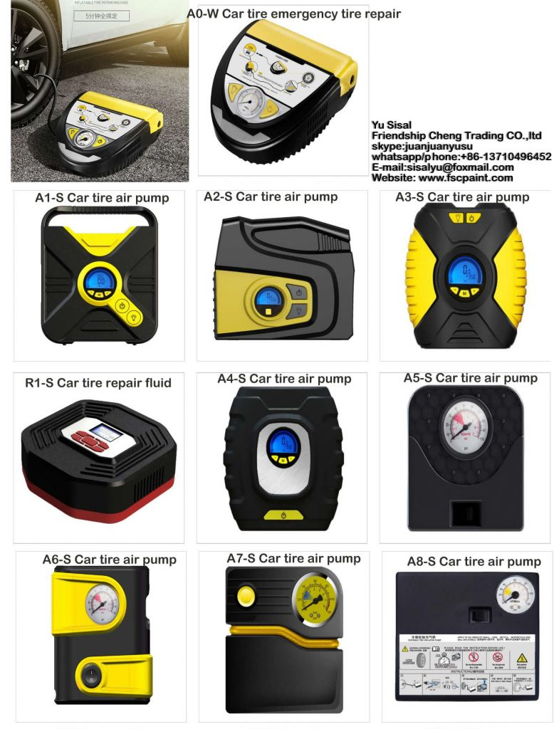 Mechanical tire inflator, air pump , Inflat tire fast , gauge