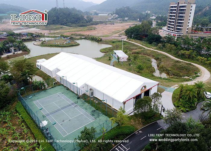 High Quality Big A Shape Event Tent With PVC Sidewalls For Restaurant