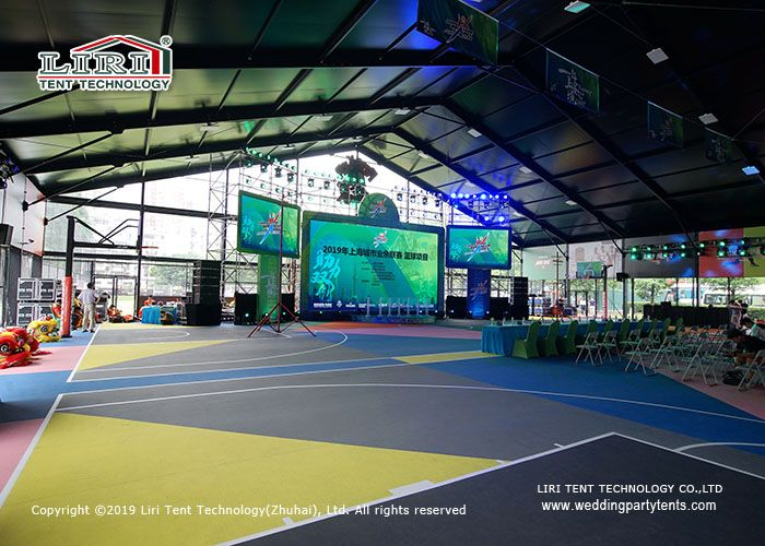 High Quality Outdoor Sport Tent With Black From For Basketball Event