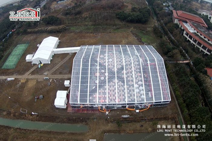 50x60m Big Transparent Event Tent For Outdoor Party From Our LIRI Tent