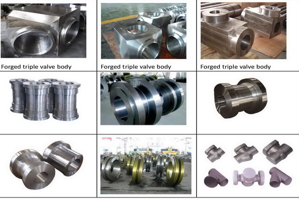 high pressure forged valve parts
