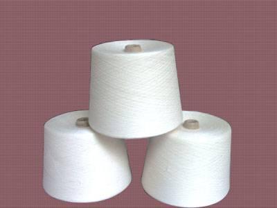 Rayon silk blended yarns