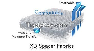 3D SPACER FABRIC PILLOW